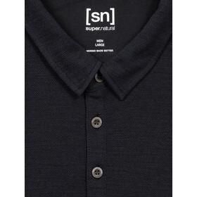 super.natural Wayfarer Polo Shirt Men jet black